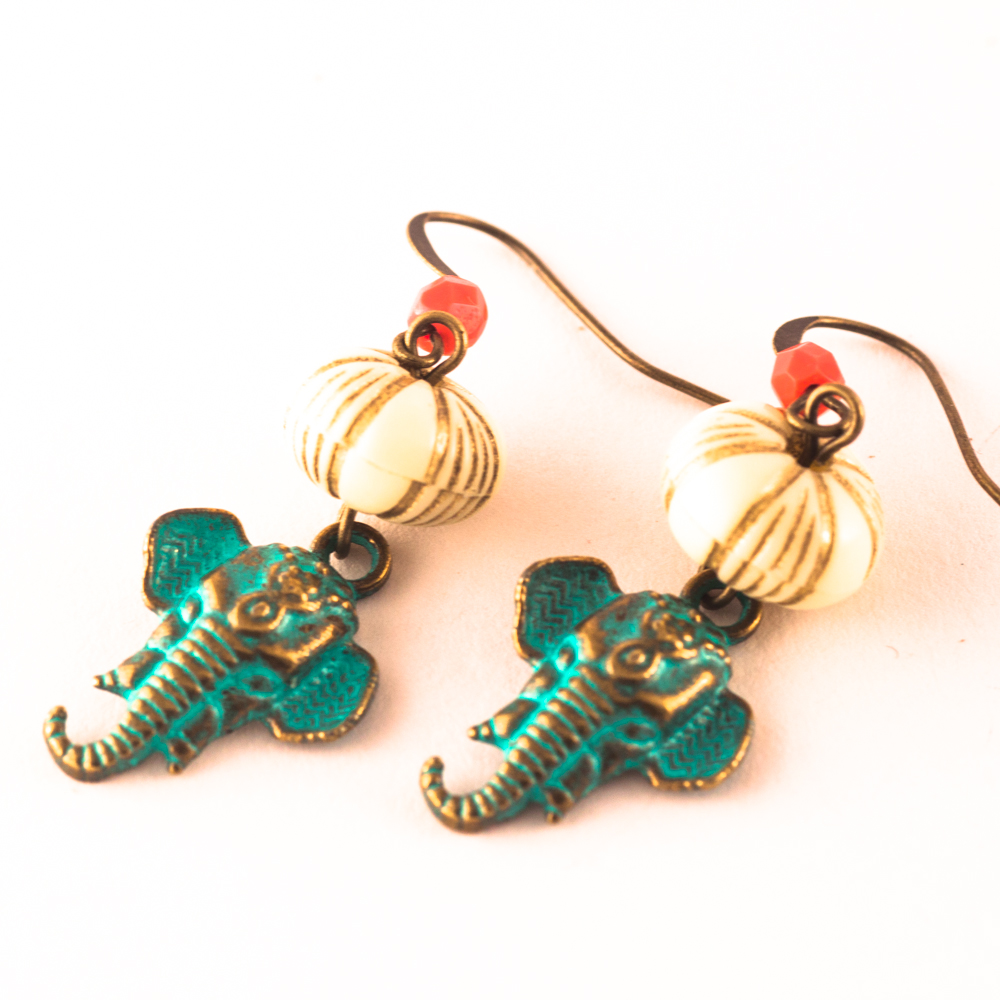 Pendientes Love Elephants